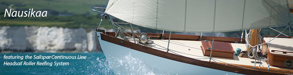 Nausikaa Featuring the Sailspar Continuous Line Headsail Roller Reefing System